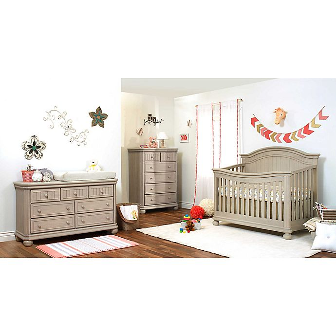 Alternate image 1 for Sorelle Finley Crib Furniture Collection in Heritage Fog
