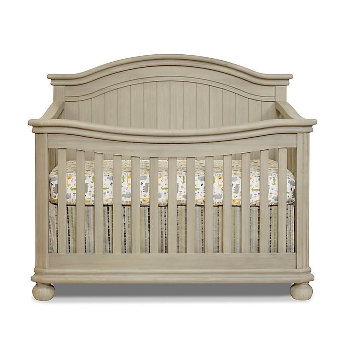Buy Sorelle Finley 4 In 1 Convertible Crib In Heritage Fog