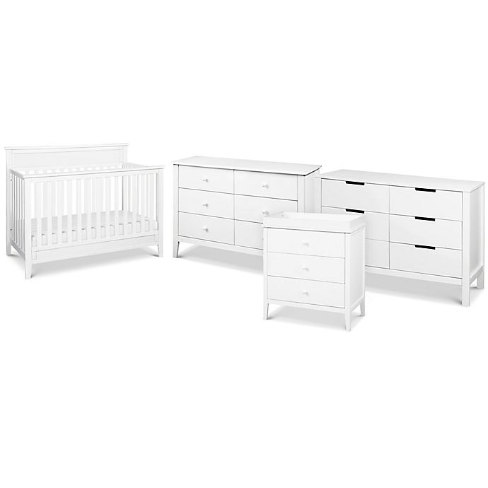 Alternate image 1 for carter's® by DaVinci® Conner Crib Furniture Collection in White