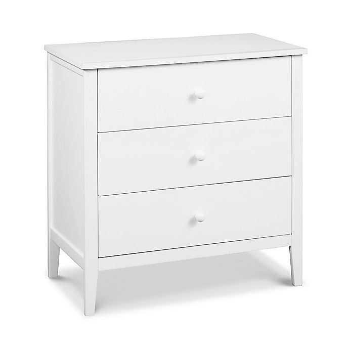 Alternate image 1 for carter's® by DaVinci® Morgan 3-Drawer Dresser in White