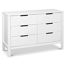 carter's® by DaVinci® Colby 6-Drawer Dresser in White