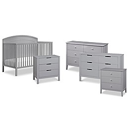 carter's® by DaVinci® Kenzie Crib Furniture Collection in Grey