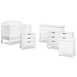 carter's® by DaVinci® Kenzie Crib Furniture Collection in White