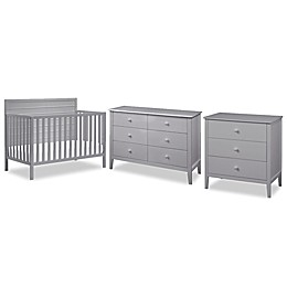 carter's® by DaVinci® Morgan Crib Furniture Collection in Grey