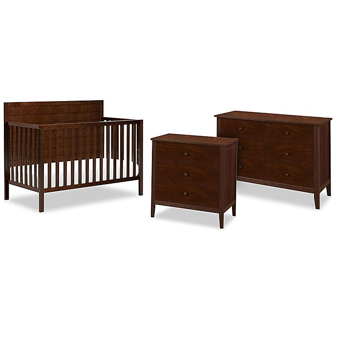 Alternate image 1 for carter's® by DaVinci® Morgan Crib Furniture Collection in Espresso