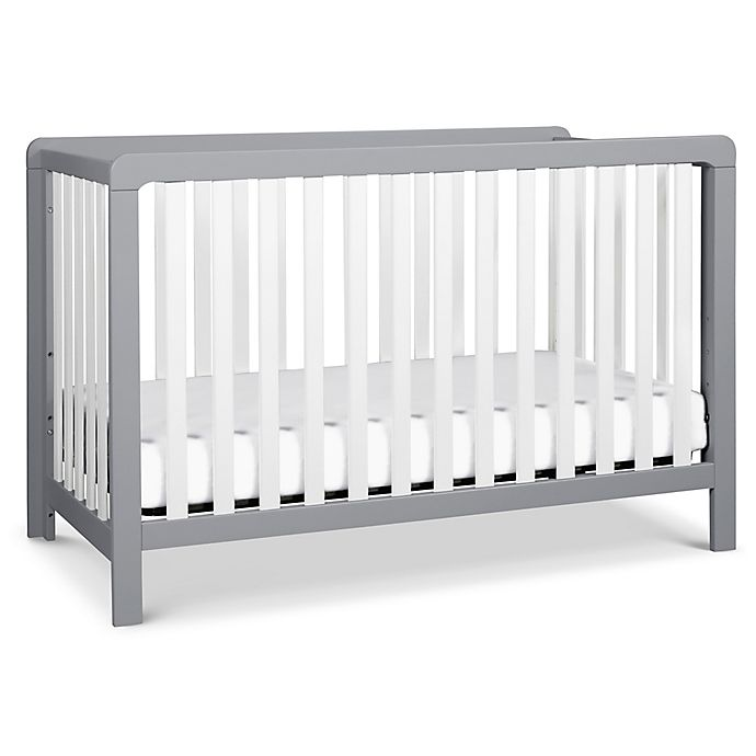 Alternate image 1 for carter's® by DaVinci® Colby 4-in-1 Crib in Grey/White