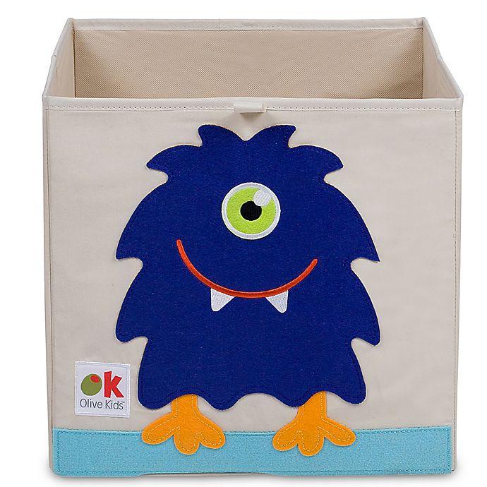Alternate image 1 for Olive Kids Monster Storage Cube