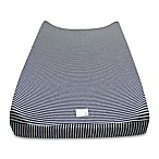 Burt's Bees Baby® Organic Cotton Stripe Changing Pad Cover in Blueberry