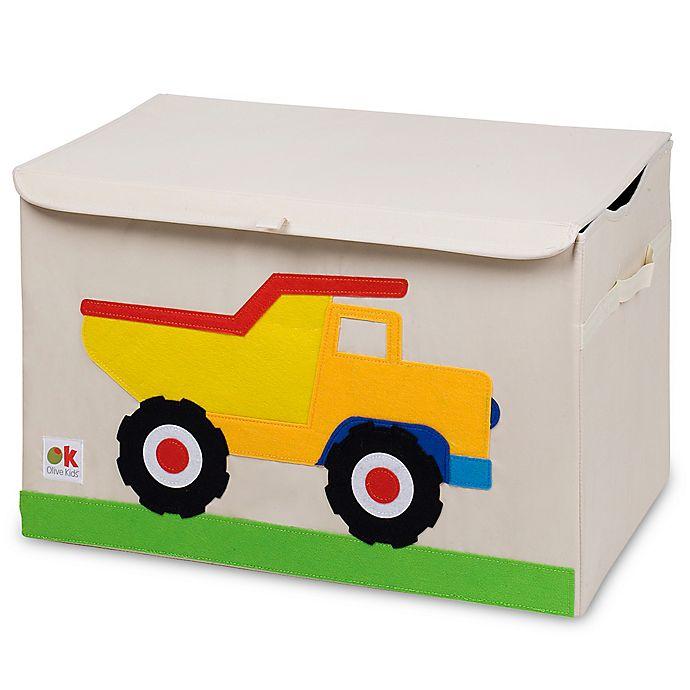 Alternate image 1 for Olive Kids Dump Truck Toy Chest