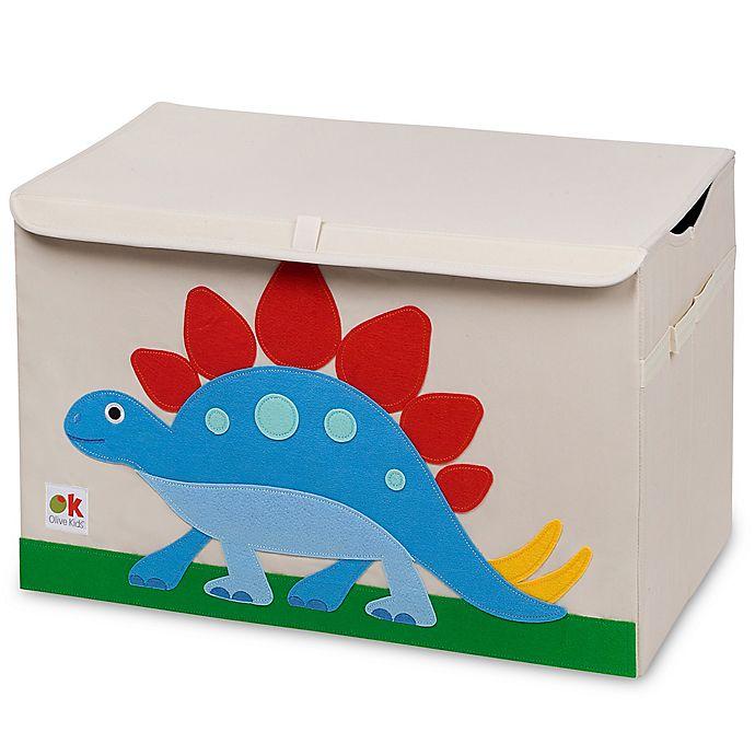 Alternate image 1 for Olive Kids Dinosaur Land Toy Chest