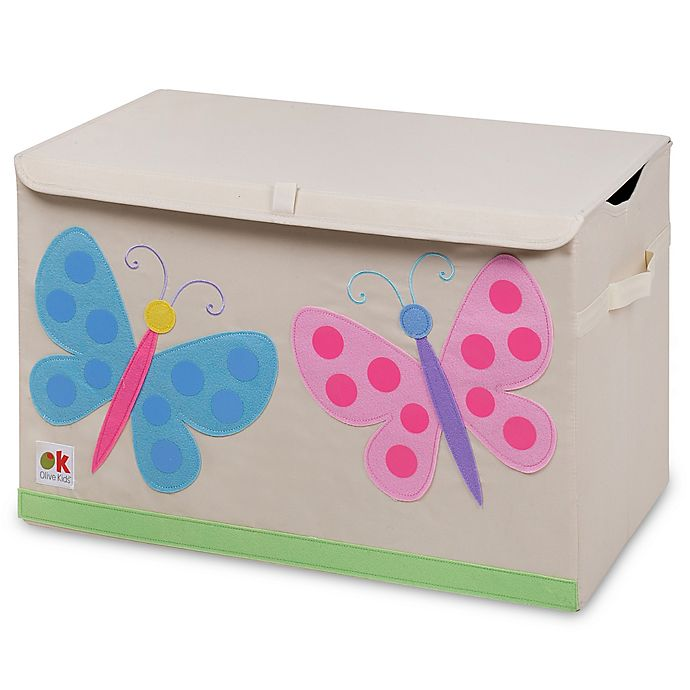 Alternate image 1 for Olive Kids Butterflies Toy Chest