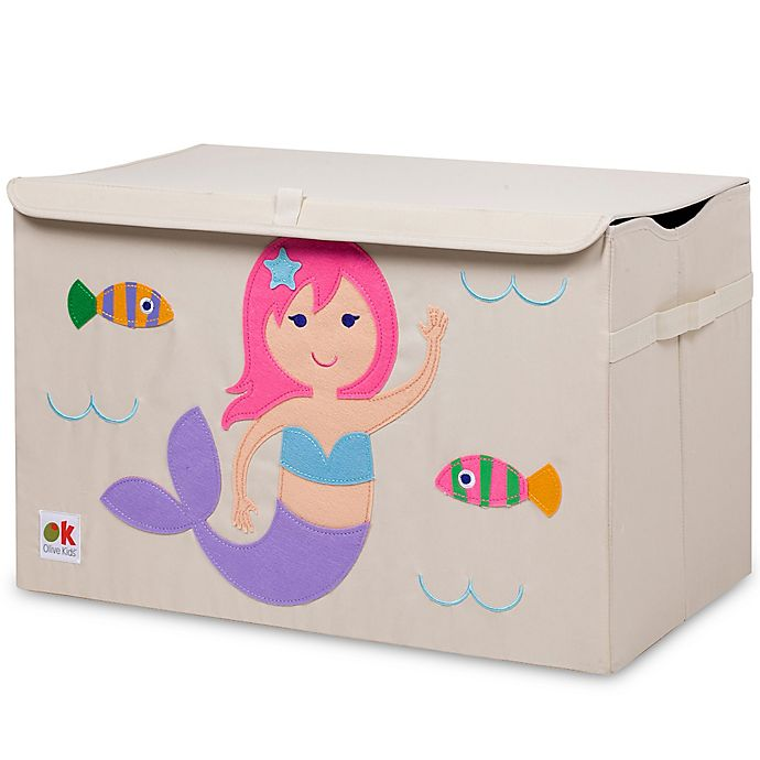Alternate image 1 for Olive Kids Mermaids Toy Chest