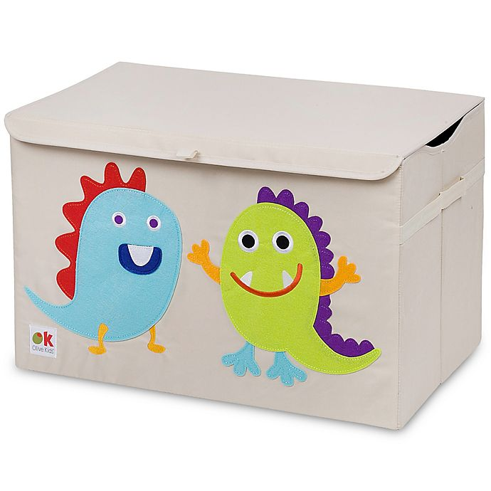 Alternate image 1 for Olive Kids Monsters Toy Chest