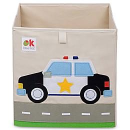 Olive Kids Police Car Storage Cube