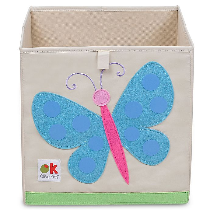 Alternate image 1 for Olive Kids Butterflies Storage Cube