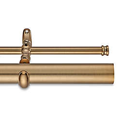 Cambria® Estate 162-Inch Double Curtain Rod in Warm Gold
