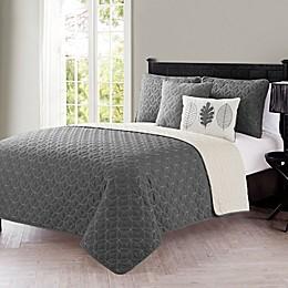 VCNY Home Hayden Reversible Quilt Set
