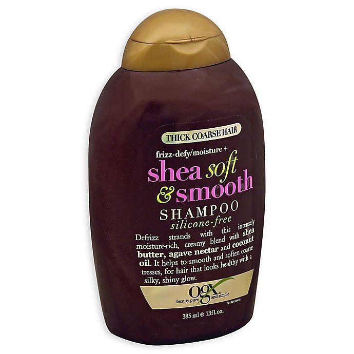 Alternate image 1 for OGX® Shea Soft & Smooth 13 fl. oz. Shampoo