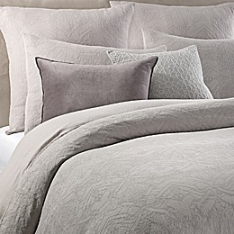 Wamsutta® Vintage Textured Jacquard Duvet Cover in Grey