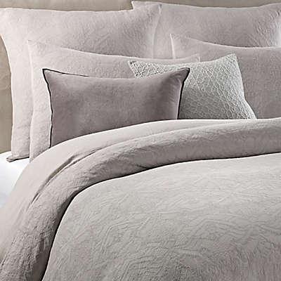 Wamsutta® Vintage Textured Jacquard Duvet Cover in Grey