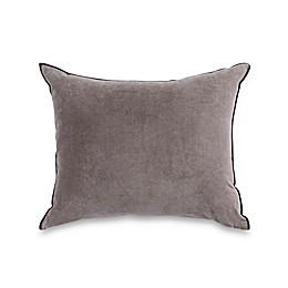 Wamsutta® Vintage Textured Jacquard Rectangle Throw Pillow in Grey