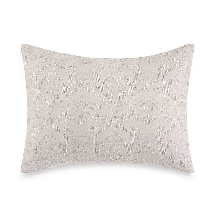 Alternate image 1 for Wamsutta® Vintage Textured Jacquard Pillow Sham in Grey