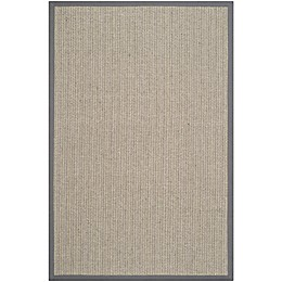 Safavieh Natural Fiber Dylan 5-Foot x 8-Foot Area Rug in Grey Brown/Grey