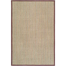 Safavieh Natural Fiber Courtney 6-Foot x 9-Foot Area Rug in Blue/Purple