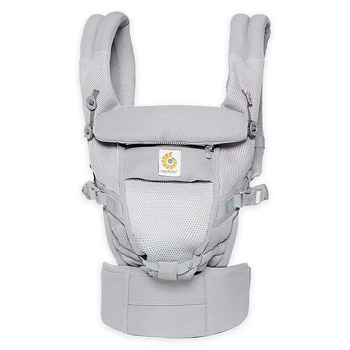 Ergobaby Adapt Cool Air Mesh Baby Carrier In Pearl Grey Bed Bath