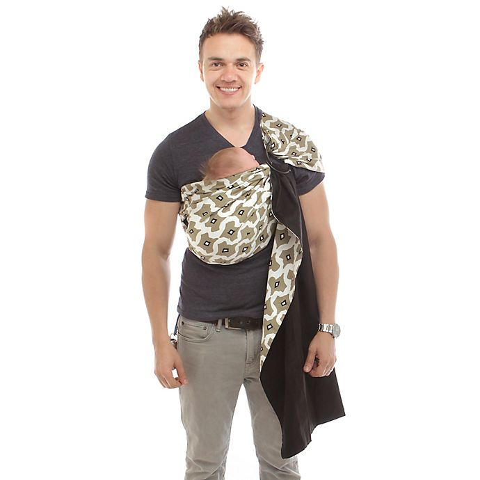 5e34490e74f Rockin  Baby® Adjustable Pouch Sling Baby Carrier in Cream Beige ...