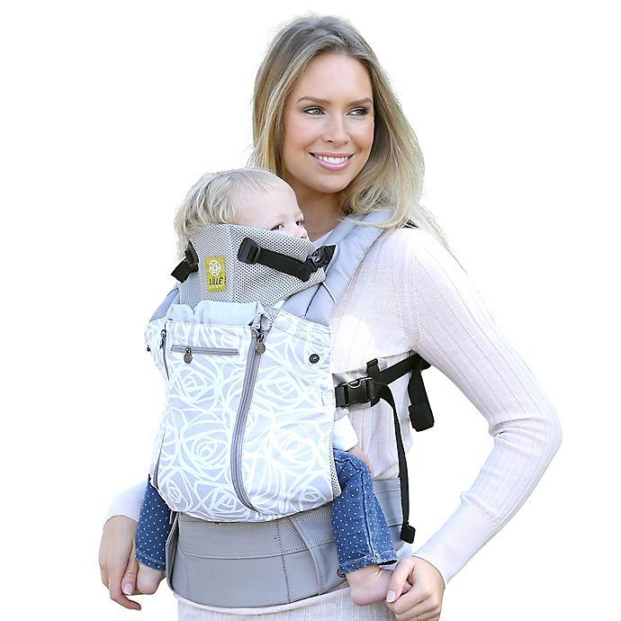 6bc12c07285 LÍLLÉbaby® Complete All Seasons Baby Carrier in Gray Frosted Rose ...