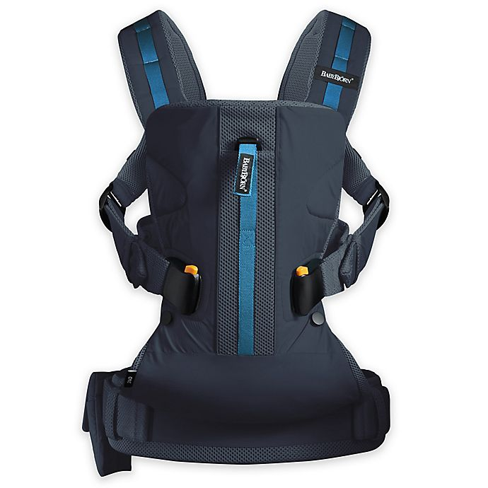 Alternate image 1 for BABYBJÖRN Carrier One Outdoor Baby Carrier in Dark Blue