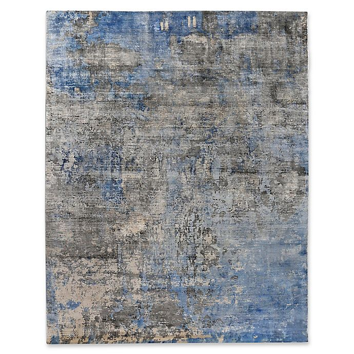 Alternate image 1 for Exquisite Rugs Koda 8-Foot x 10-Foot Are Rug in Silver