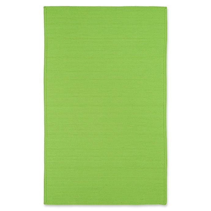Alternate image 1 for Kaleen Bikini 9-Foot x 12-Foot Indoor/Outdoor Area Rug in Lime Green
