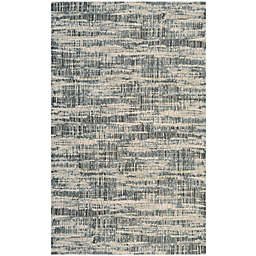Couristan® Easton Maynard 5-Foot 3-Inch x 7-Foot 6-Inch Area Rug in Cream/Teal