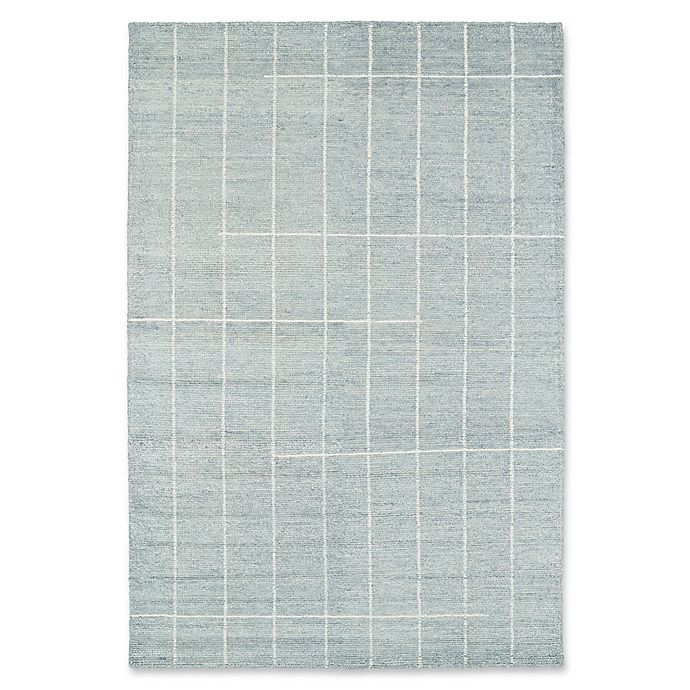 Alternate image 1 for Kaleen Solitaire Urban Loft 9-Foot 6-Inch x 13-Foot Area Rug in Glacier