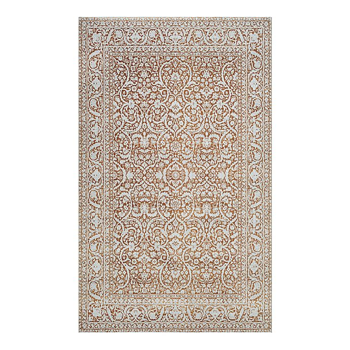 Alternate image 1 for Couristan® Patina Qum 7-Foot 10-Inch x 10-Foot 9-Inch Area Rug in Green