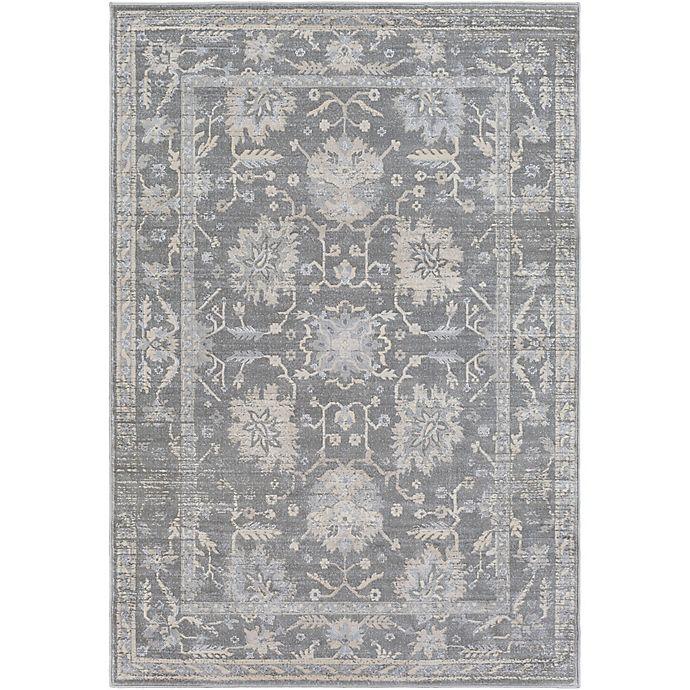 Alternate image 1 for Surya Idabel 5-Foot 3-Inch x 7-Foot 6-Inch Area Rug in Medium Grey