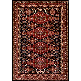 Surya Poulton Rug in Dark Red