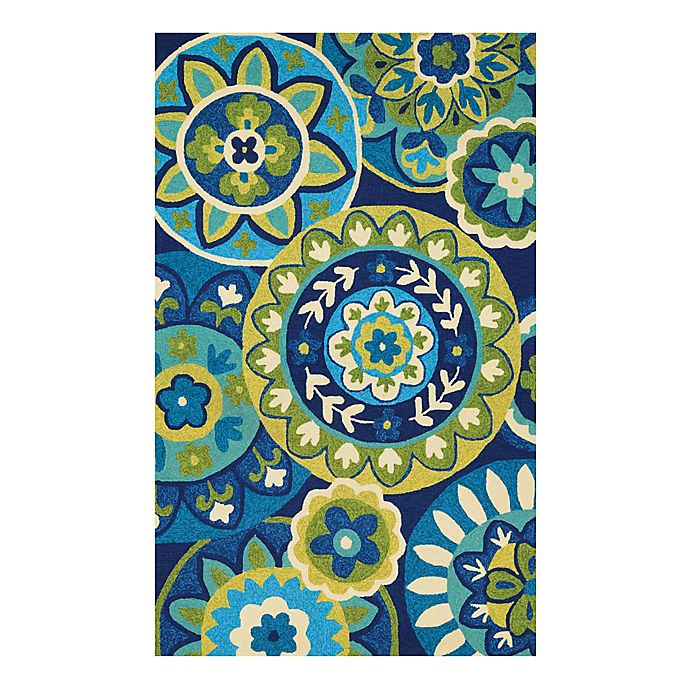 Alternate image 1 for Couristan® Covington Riptide Indoor/Outdoor Rug