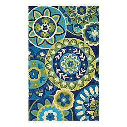 Couristan® Covington Riptide Indoor/Outdoor Rug
