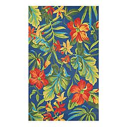 Covington Tropic  Indoor/Outdoor Multicolor Rug