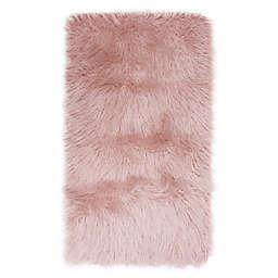 Keller Faux Mongolian Fur Rug from Thro by Marlo Lorenz