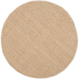 Safavieh Natural Fiber Johanna 6-Foot Round Area Rug in Natural/Beige