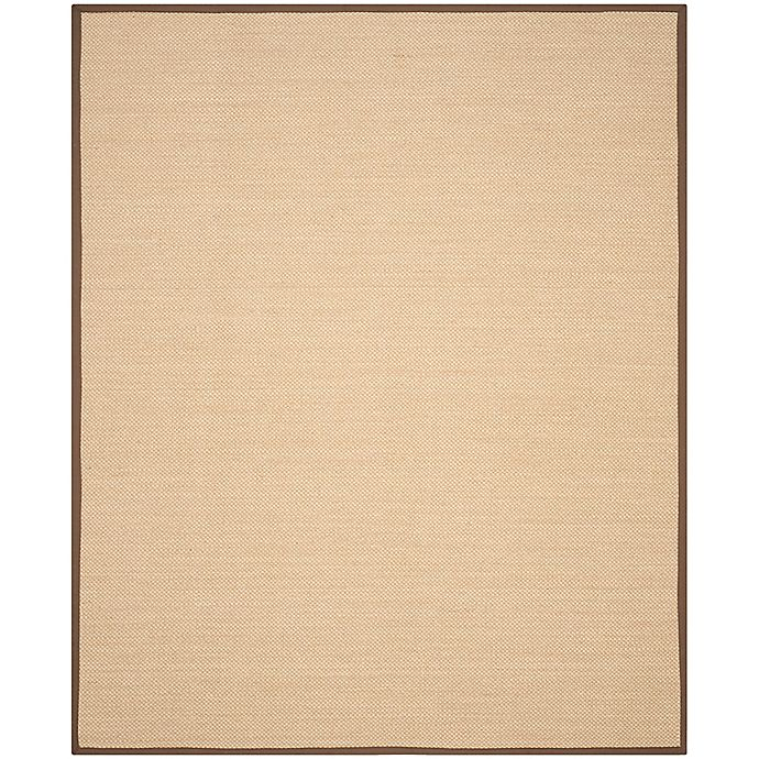 Alternate image 1 for Safavieh Natural Fiber Willow 8-Foot x 11-Foot Area Rug in Maize/Brown