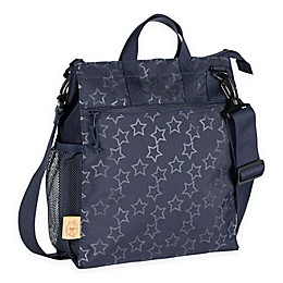 Lassig Casual Stroller Bag in Reflective Star Navy