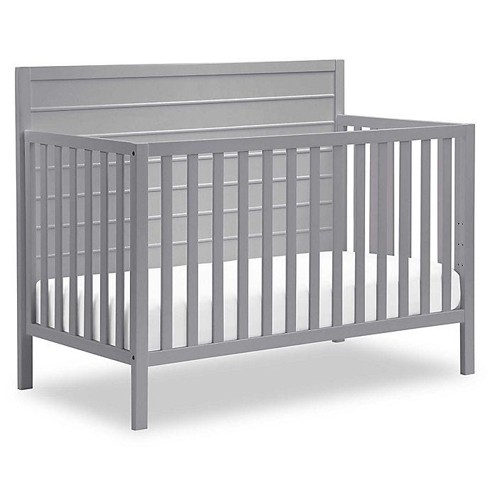 Alternate image 1 for carter's® by DaVinci® Morgan 4-in-1 Crib in Grey