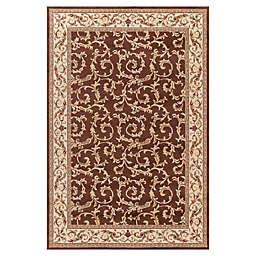 Concord Global Veronica 5-Foot 3-Inch x 7-Foot 7-Inch Rug in Brown