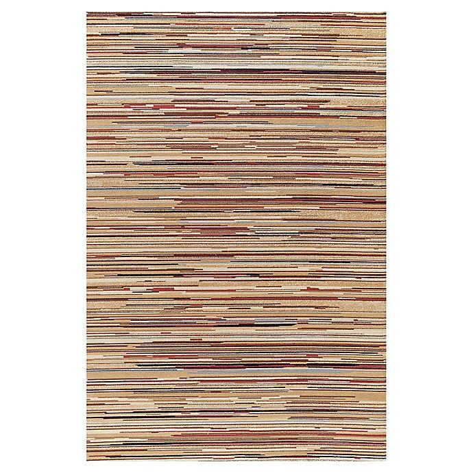 Alternate image 1 for Striation Stripes Indoor Rug