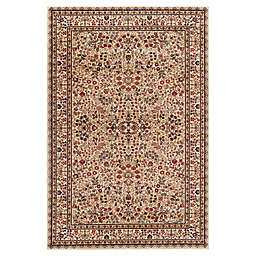 Concord Trading Sarouk 5-Foot 3-Inch x 7-Foot 7-Inch Rug in Ivory